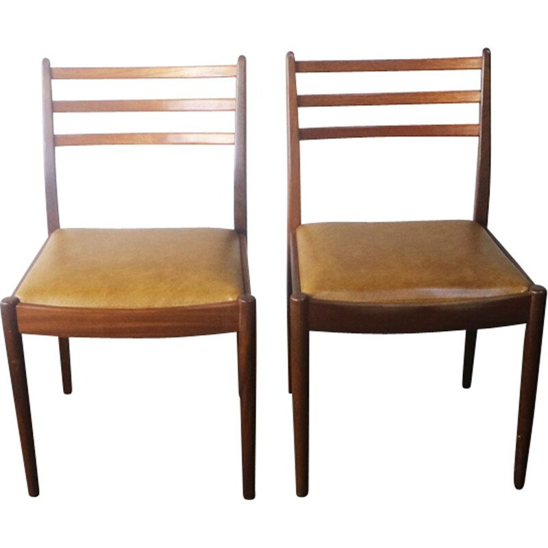 Set of 4 dining chairs in teak by G Plan