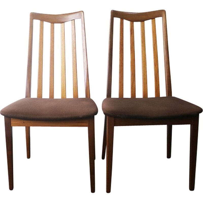 Vintage set of 6 dining chairs for G Plan