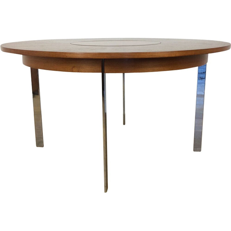 Vintage dining table in rosewood by Merrow Associates