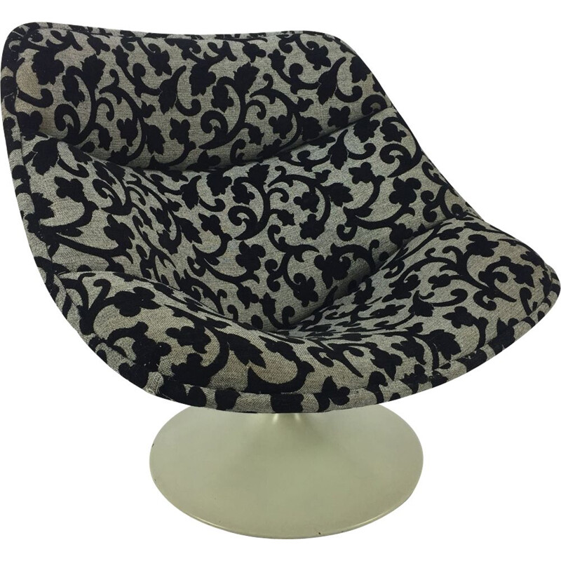 Vintage Oyster lounge chair F557 by Pierre Paulin for Artifort