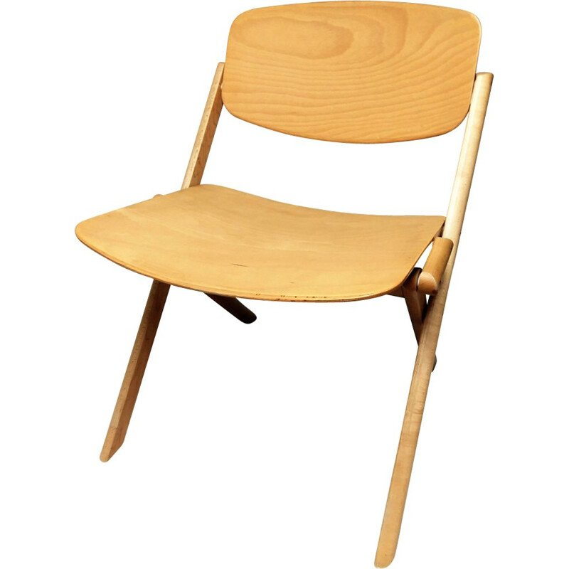 Vintage low  chair by Jean-Claude Duboys for Attitude Editions
