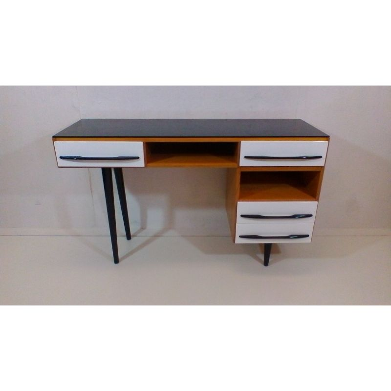Writing Desk Designed By Architect M Pozar Retro Style 1960s Design Market