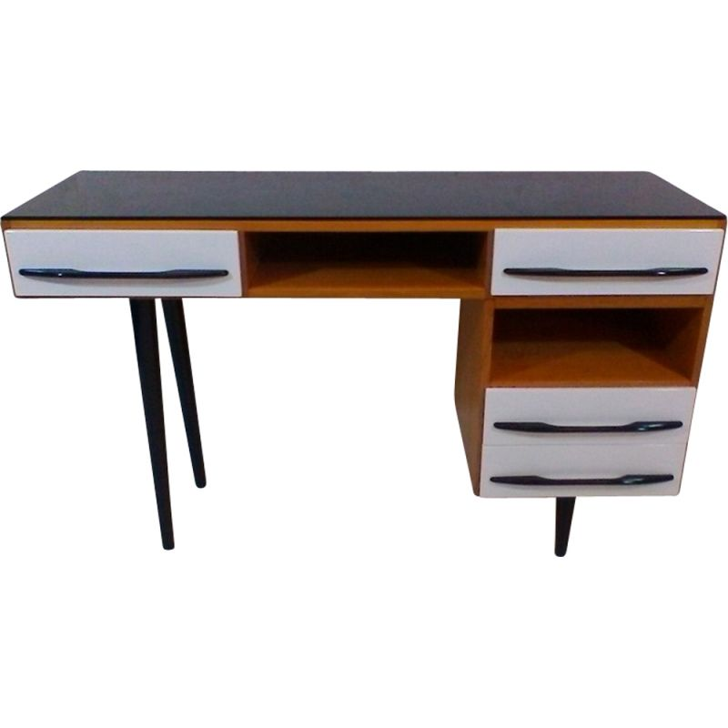 Writing Desk Designed By Architect M Pozar Retro Style 1960s