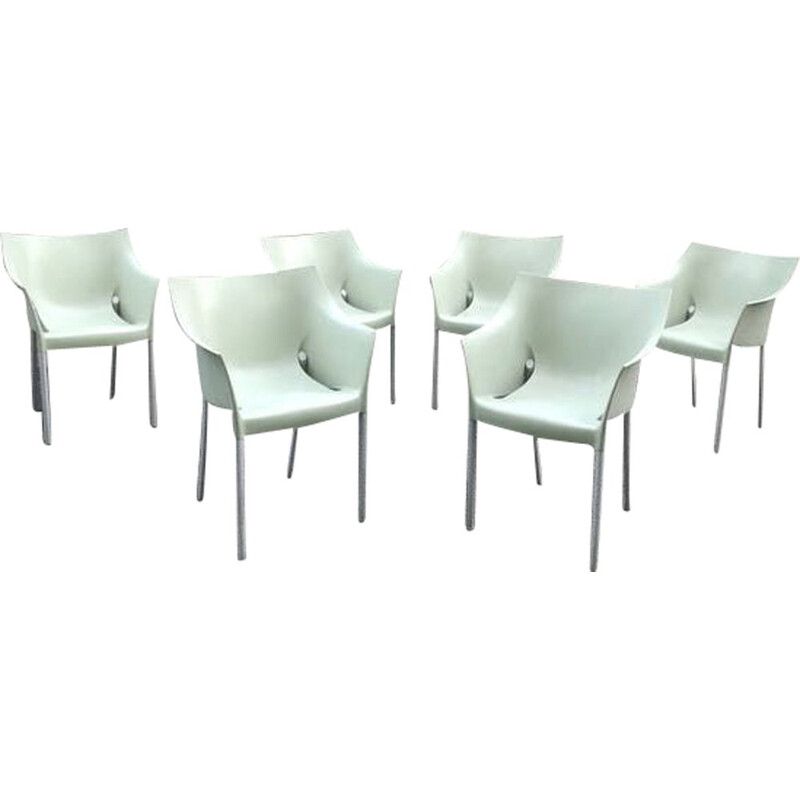 6 vintage armchairs DrNo by Starck for Kartell