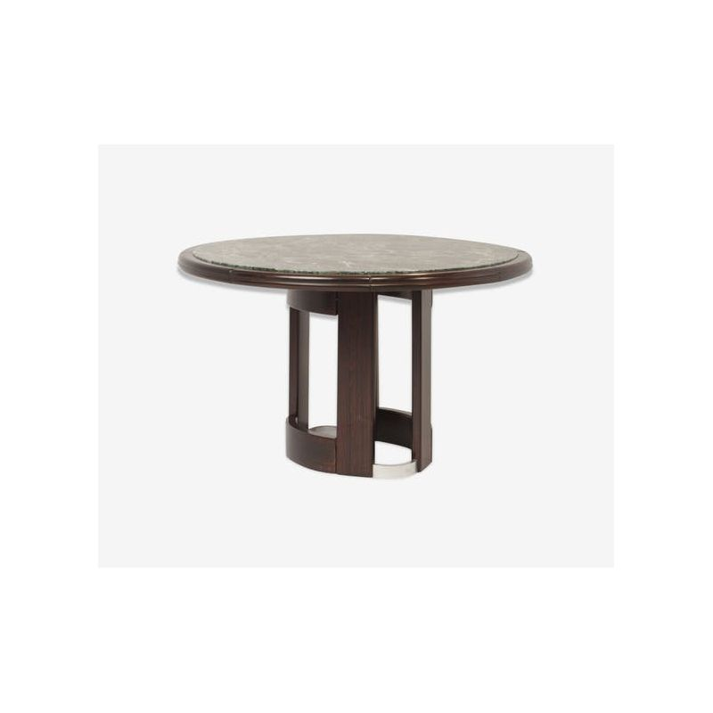 Italian Vintage Dining Table In Green Marble Design Market