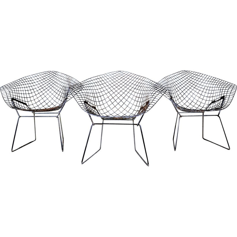 Diamond armchair by Harry Bertoia for Knoll International