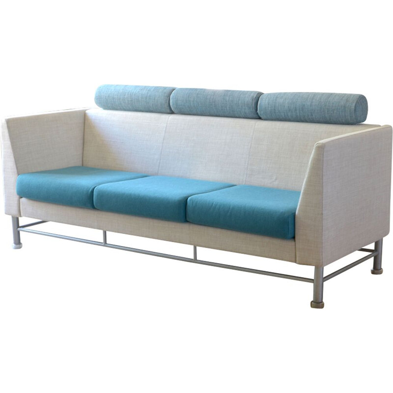 "3-seater sofa ""Eastside"" by Ettore Sottsass for Knoll"