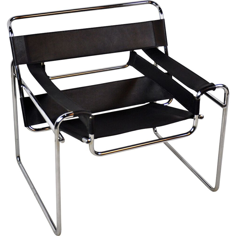 Vintage German Wassily Chair By Marcel Breuer