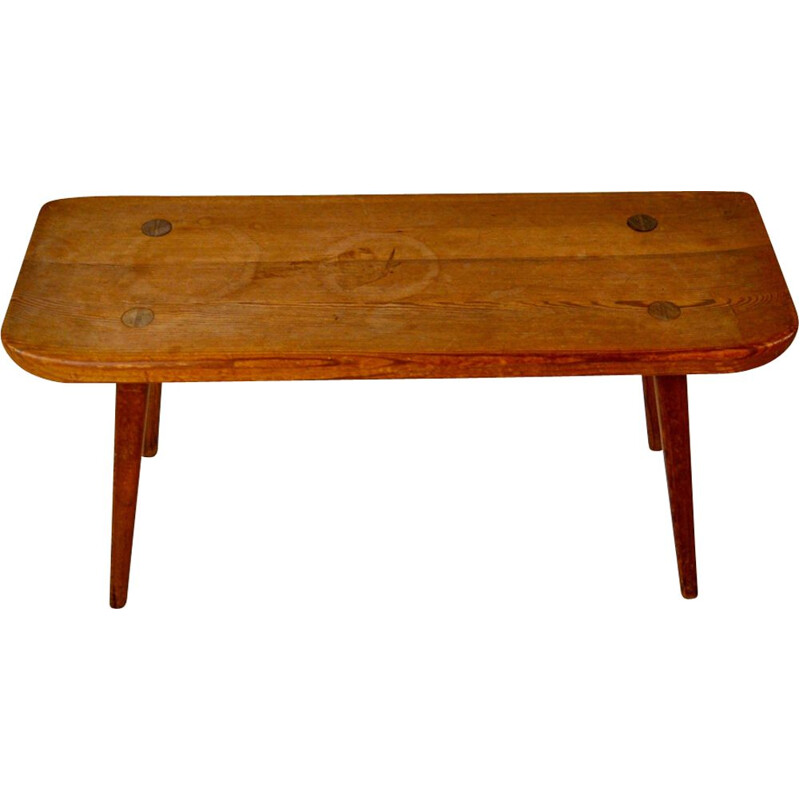 Vintage bench by Carl Malmsten for Svensk fur