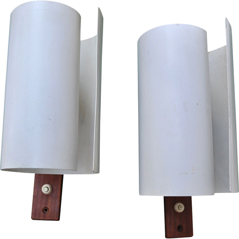 "Set of 4 vintage wall lamps ""V140A"" by Hans-Agne Jakobsson"