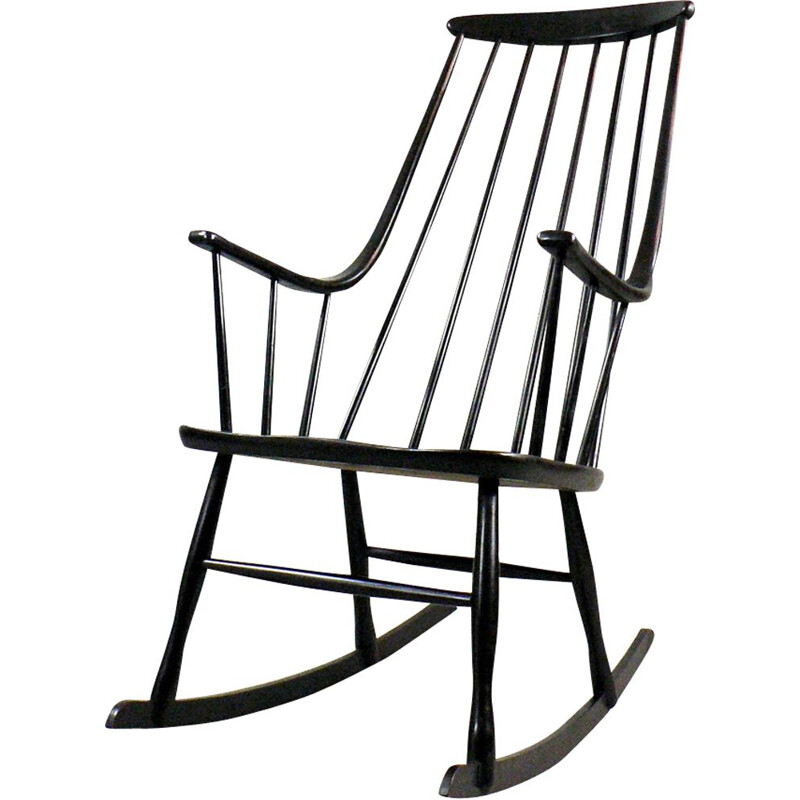Vintage rocking chair Grandessa by Lena Larsson for Nesto