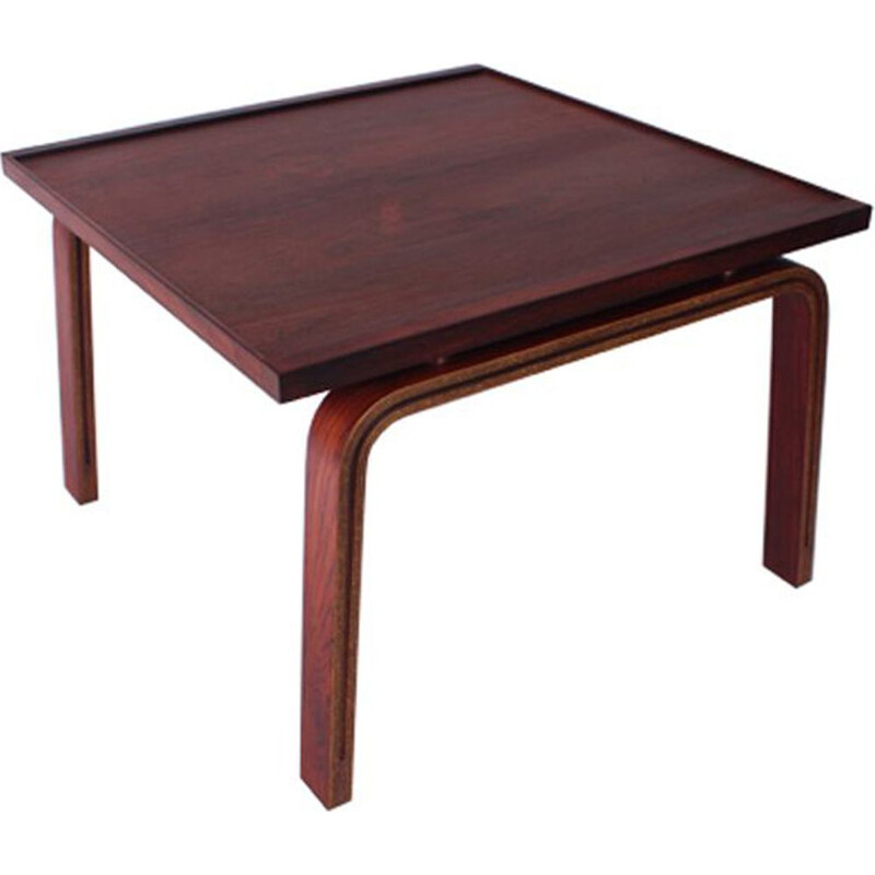 Vintage side table in rosewood by Arne Jacobsen
