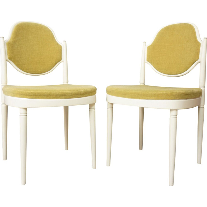 Vintage set of 2 chairs by Thonet to Von Gustedt