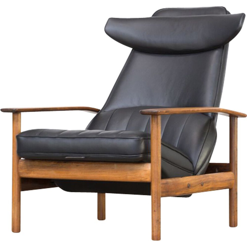 Vintage lounge chair by Sven Ivar Dysthe for Dokka Møbler