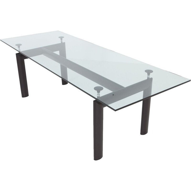Vintage dining table LC6 by Le Corbursier for Cassina 1990