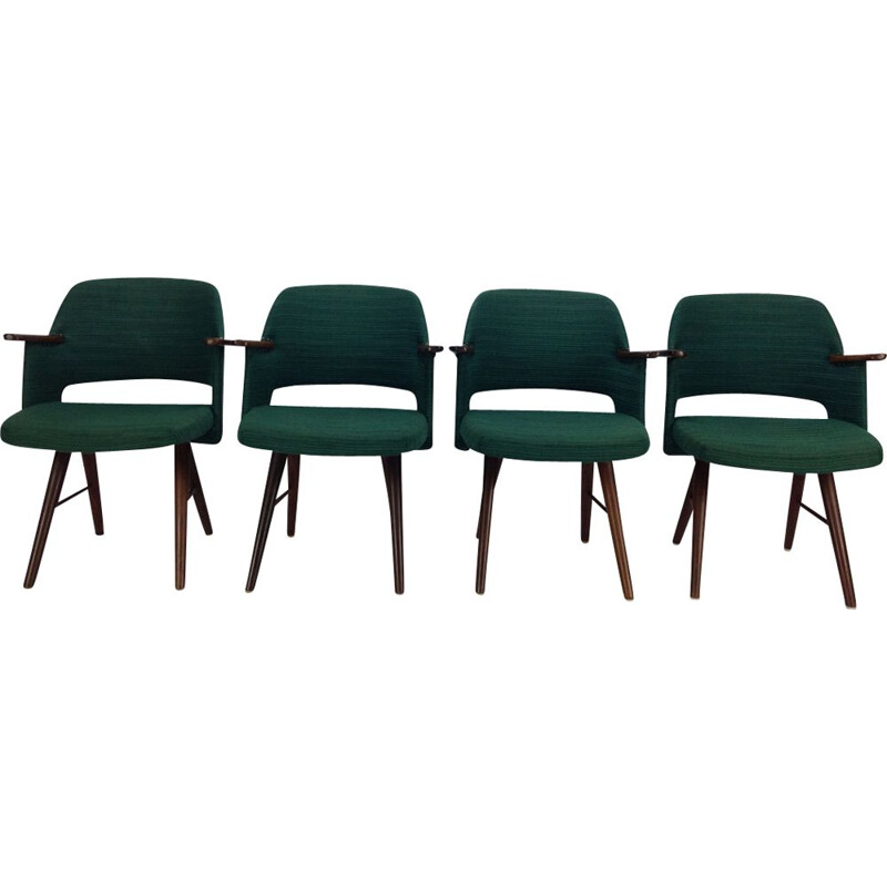 Set of 4 vintage FT30 chairs by Cees Braakman for UMS Pastoe
