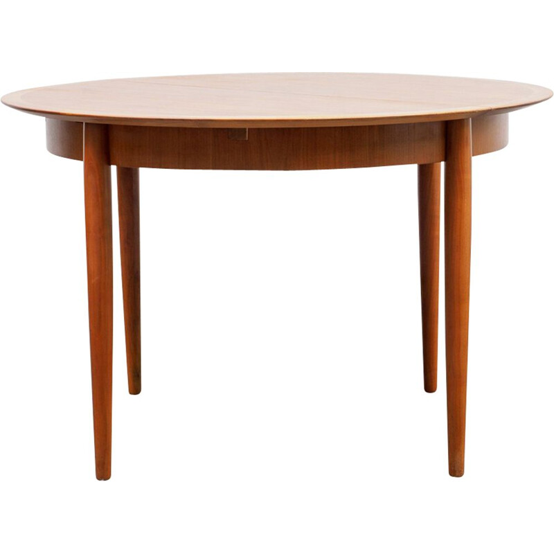 Vintage extendable dining table by Lübke Germany
