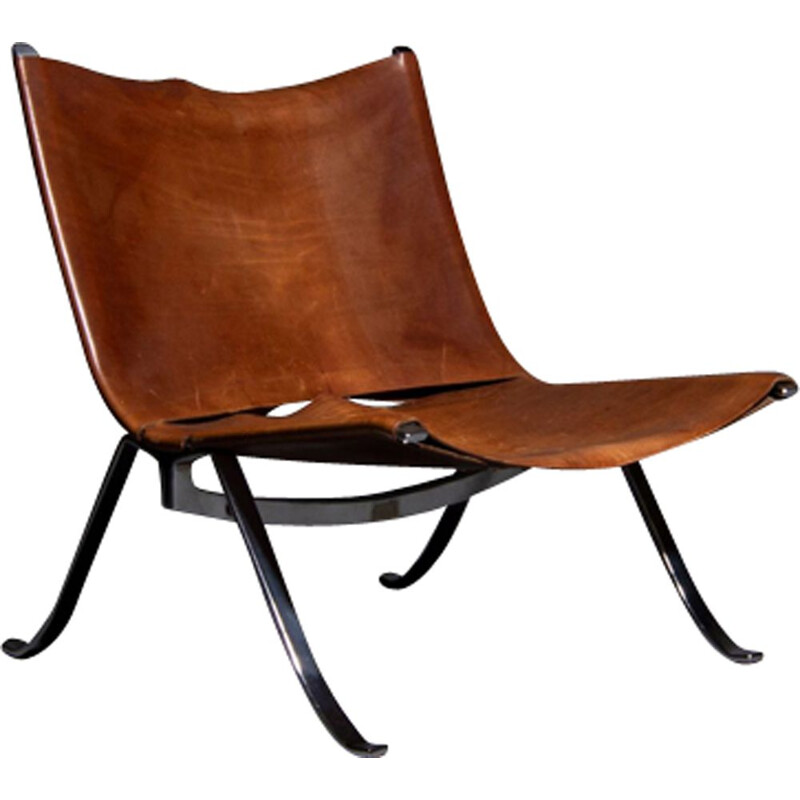 Vintage lounge chair by Preben Fabricius and Jørgen Kastholm for Arnold Exclusiv