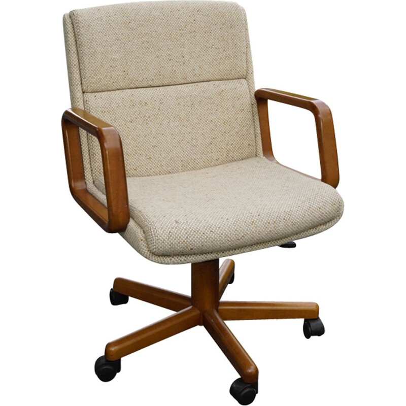 Vintage swivel and adjustable office chair