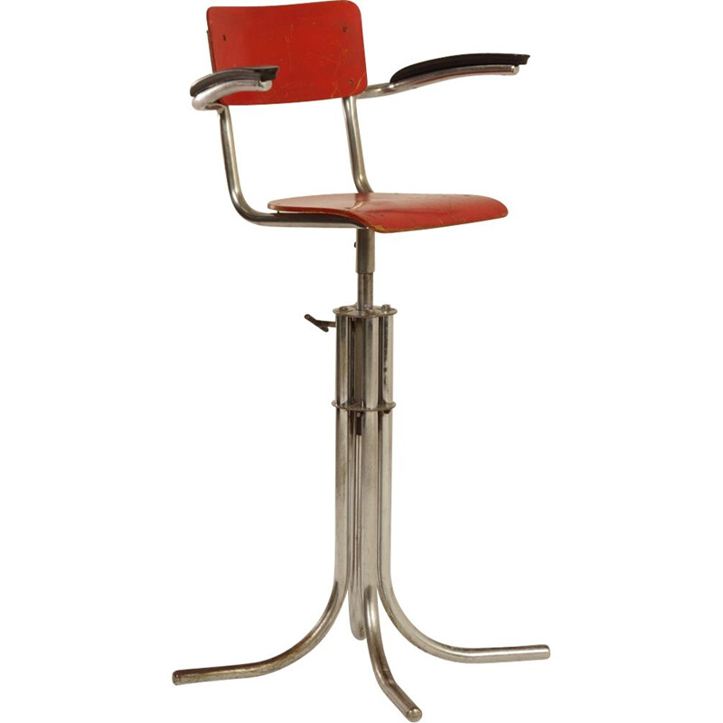 Kids Barber Chair by W.H. Gispen for Gispen