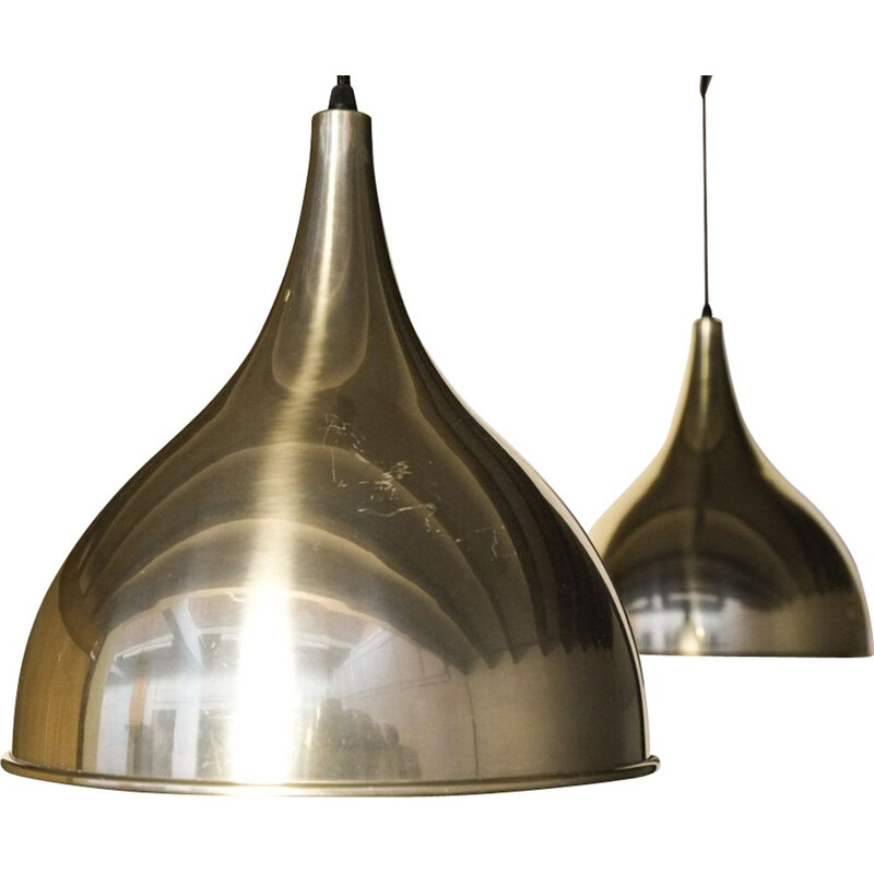 Set of 2 Danish pendant lamps by Fog & Morup