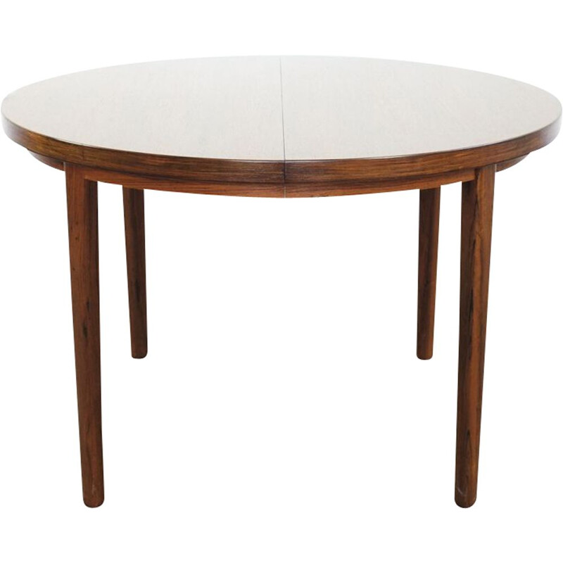 Vintage Danish dining table in rosewood