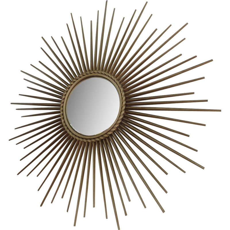 """Large """"Sun"""" mirror by Chatty Vallauris"""