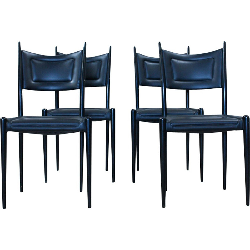 Set of 4 vintage dining chairs by G-Plan