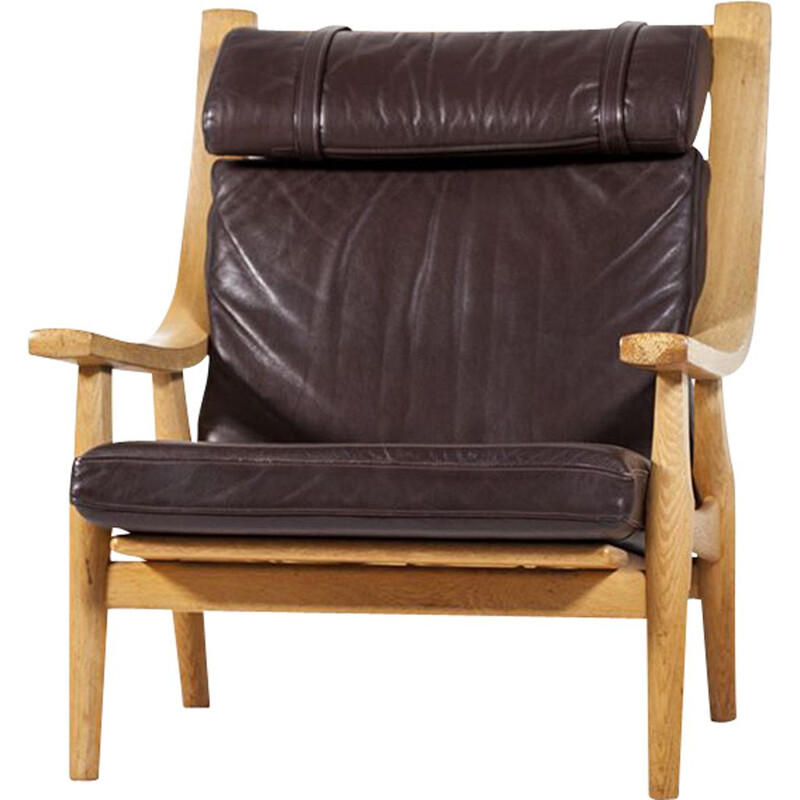 "Vintage highback armchair ""GE 530"" by Hans J. Wegner for Getama"