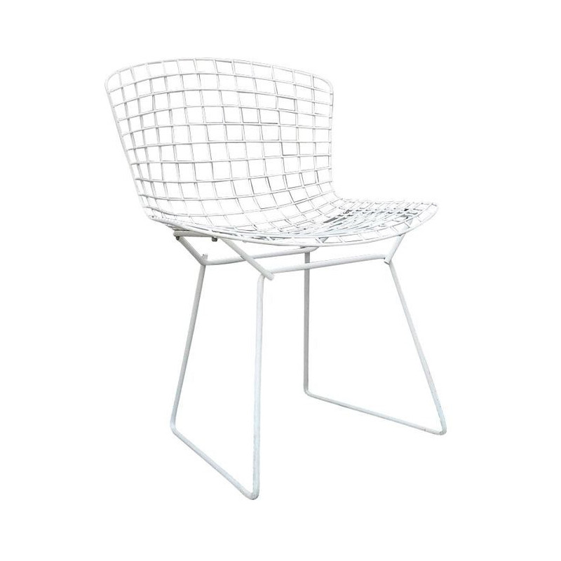 "Vintage chair ""Wire"" by Harry Bertoia for Knoll"
