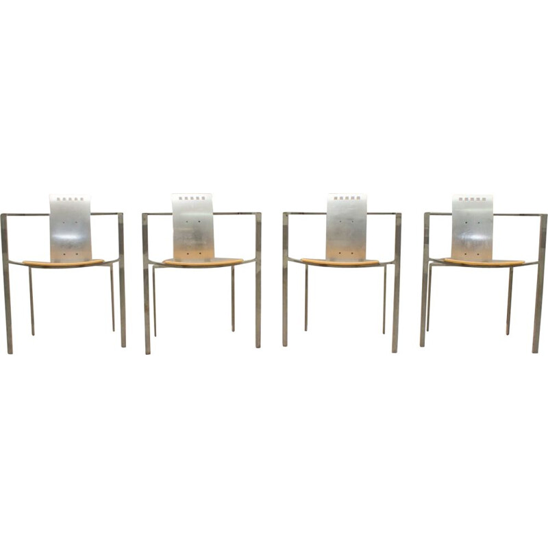 Set of 4 Memphis Dining Chairs