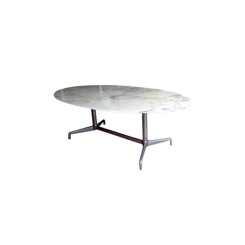 Dining Table In Marble Charles EAMES S Design Market - Eames marble table