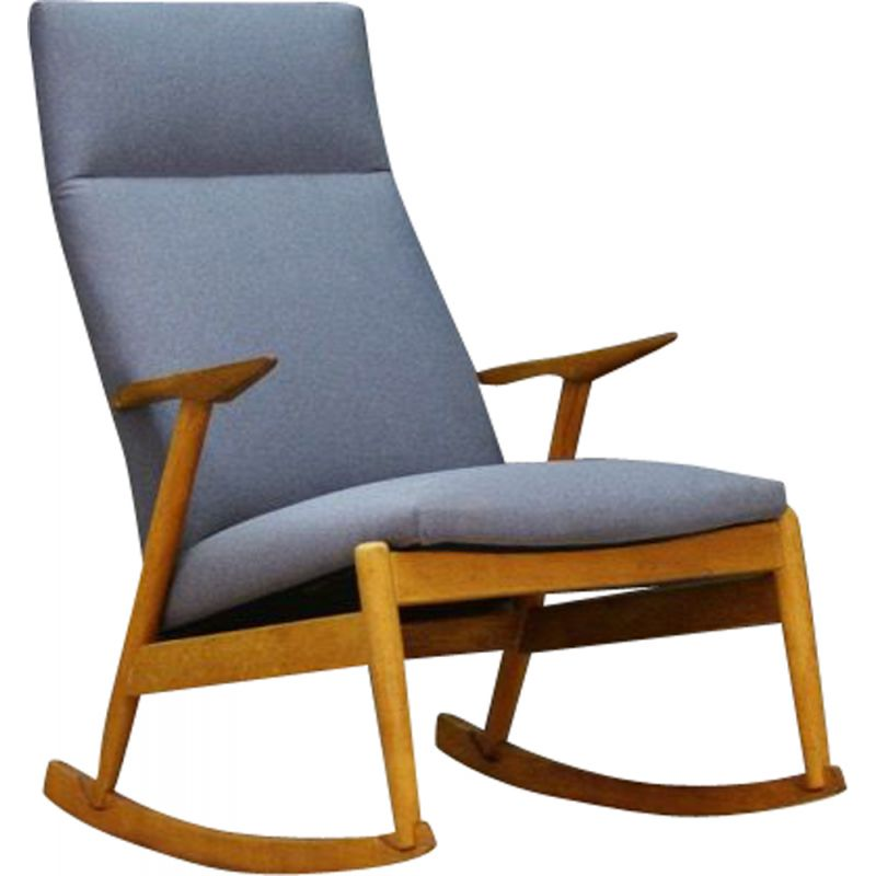 Awesome Vintage Scandinavian Rocking Chair In Ashwood 1970 Pdpeps Interior Chair Design Pdpepsorg