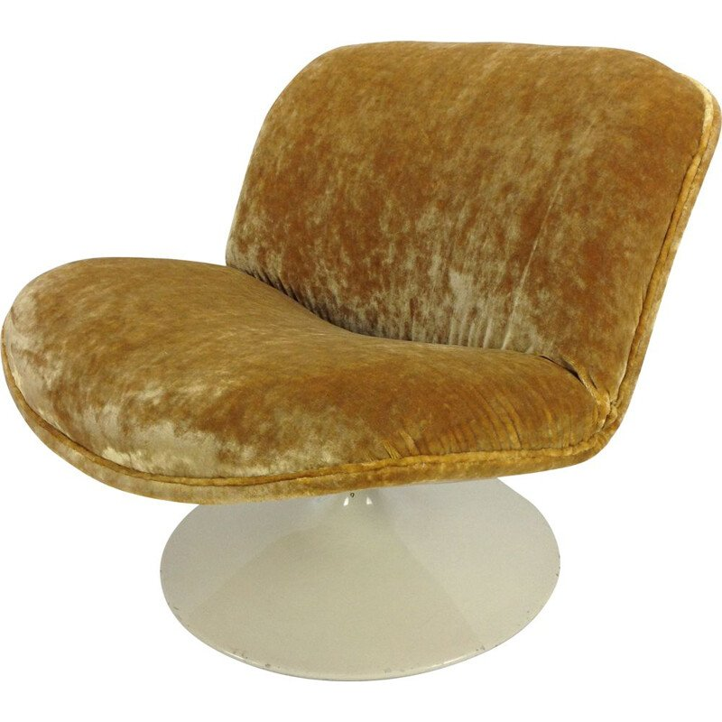 Vintage lounge chair 508 by Geoffrey Harcourt for Artifort
