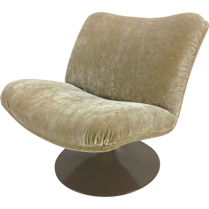 Vintage 504 lounge chair by Geoffrey Harcourt for Artifort