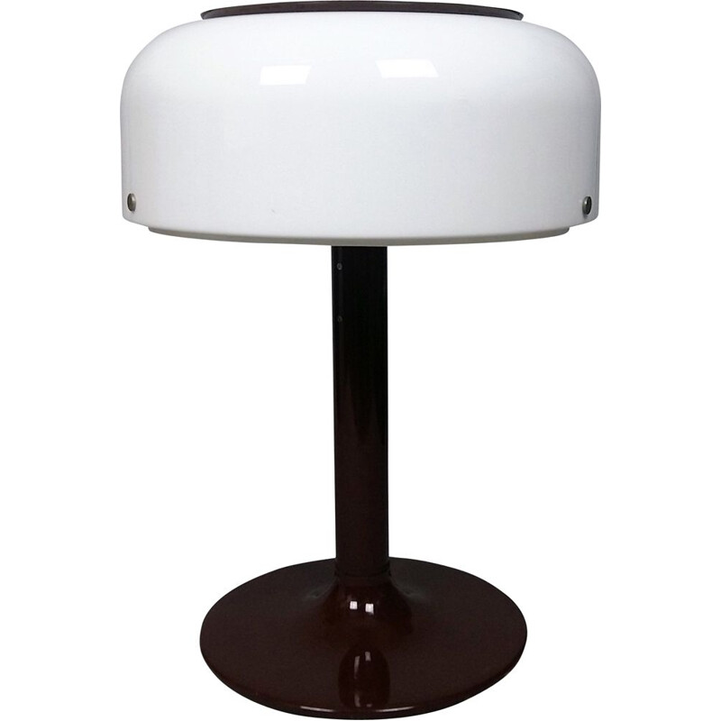 Vintage table lamp in metal and perspex by Anders Pehrson