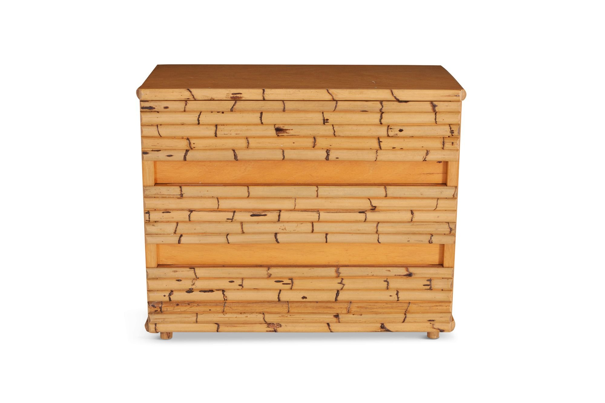 best service e9785 1b779 Vintage chest of drawers in bamboo by Venturini