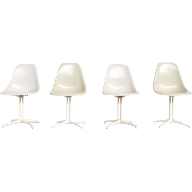"Set of 4 vintage chairs ""La Fonda"" by Charles & Ray Eames"