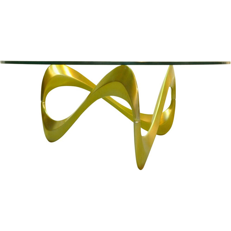 "Vintage coffee table ""Snake"" by Knut Hesterberg"