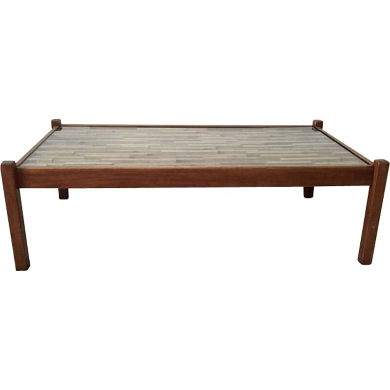 Vintage coffee table in rosewood by Percival Lafer