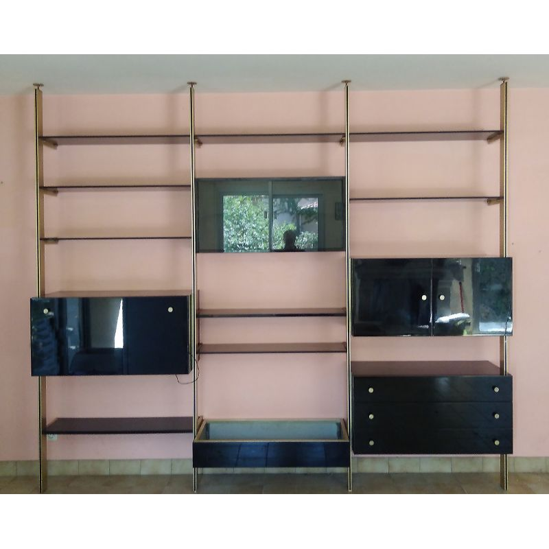 Vintage Adjustable Bookcase From Roche Bobois