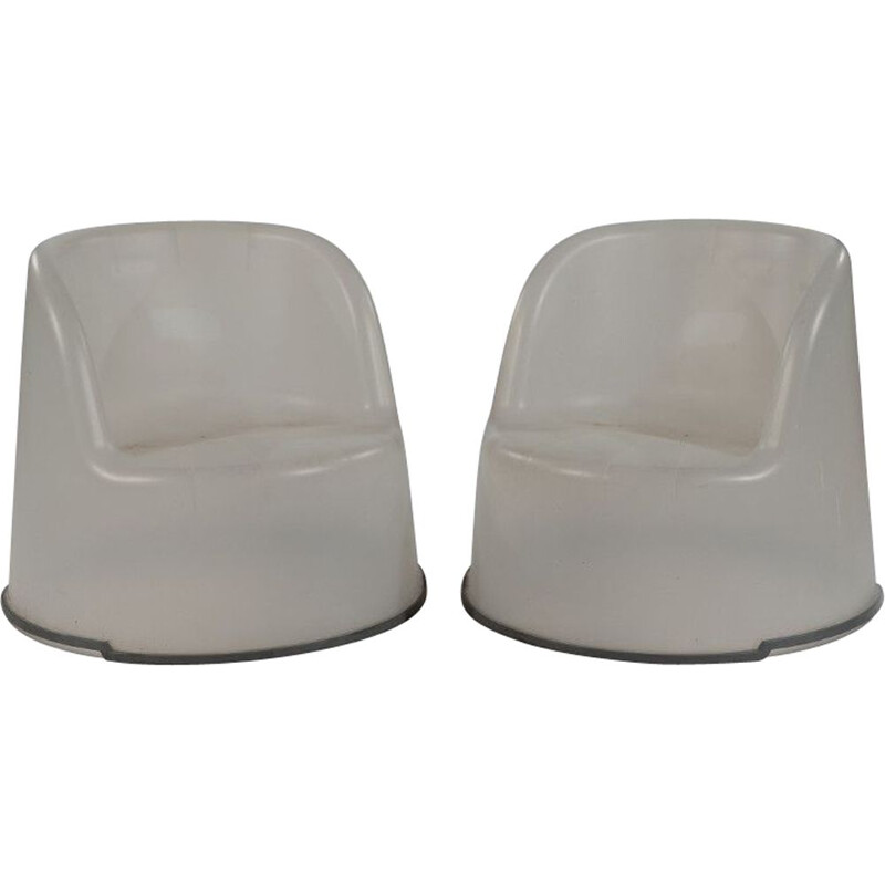 Vintage Tub armchairs by Knut and Marianne Hagberg for IKEA