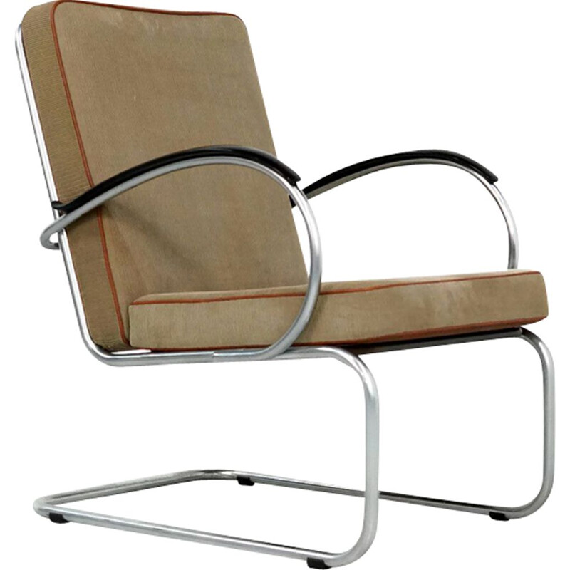 Vintage Gispen 409 easy chair by W.H. Gispen
