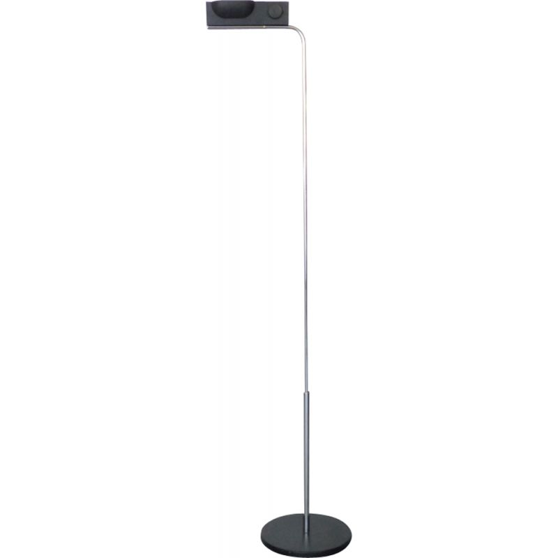 "Black vintage Floor lamp  model ""Camera terra"" by Ernesto Gismondi for Artemide"