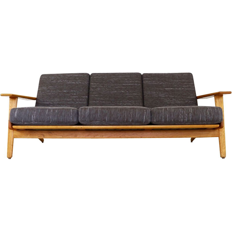 Vintage 3-seater sofa by Hans Wegner
