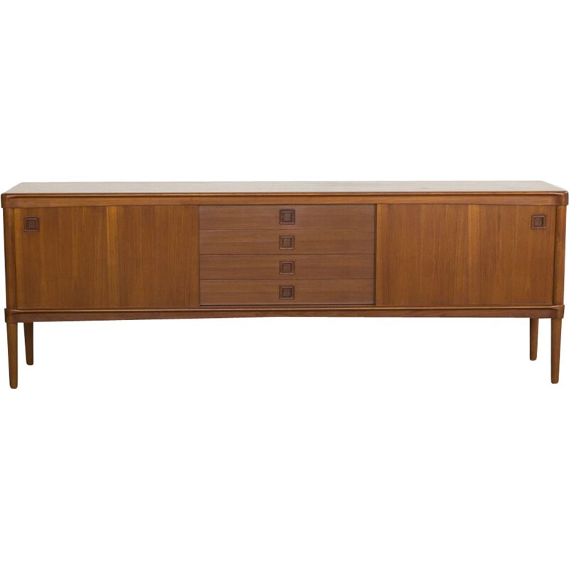 Vintage teak sideboard by HW Klein for Bramin