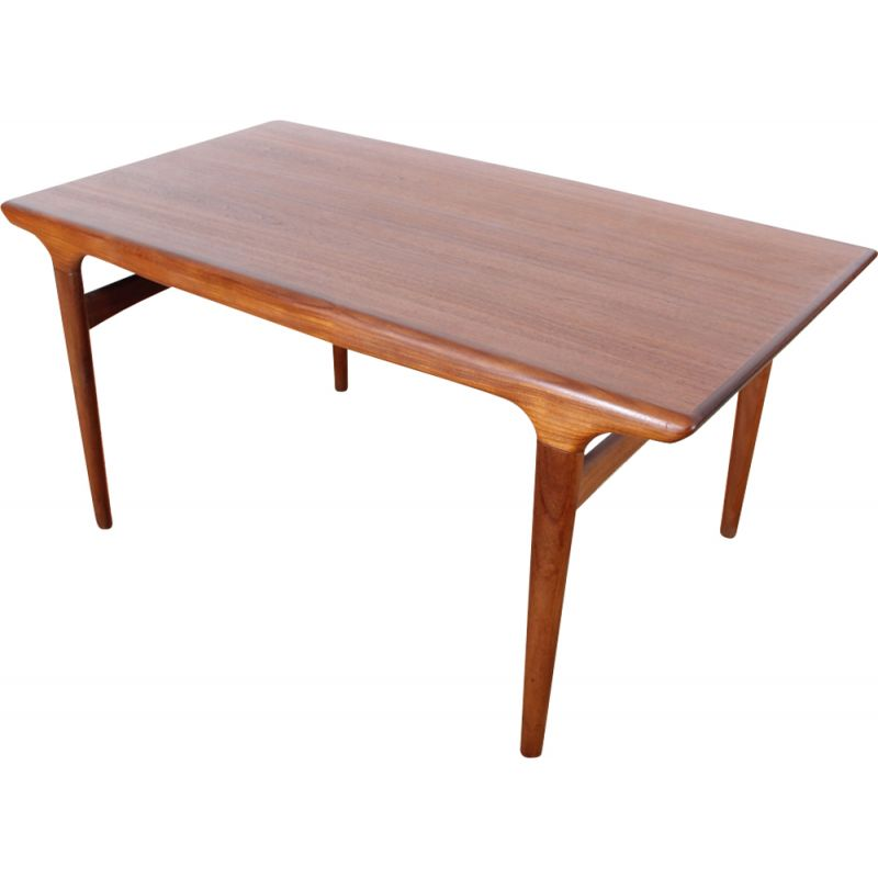 Scandinavian Teak Dining Table For 4 8 Pers