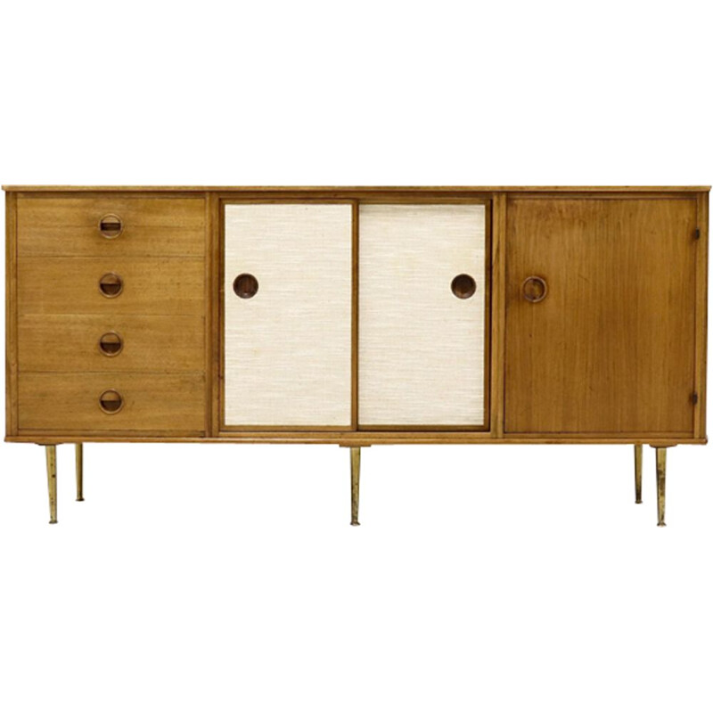 Vintage sideboard in walnut by William Watting for Modernord