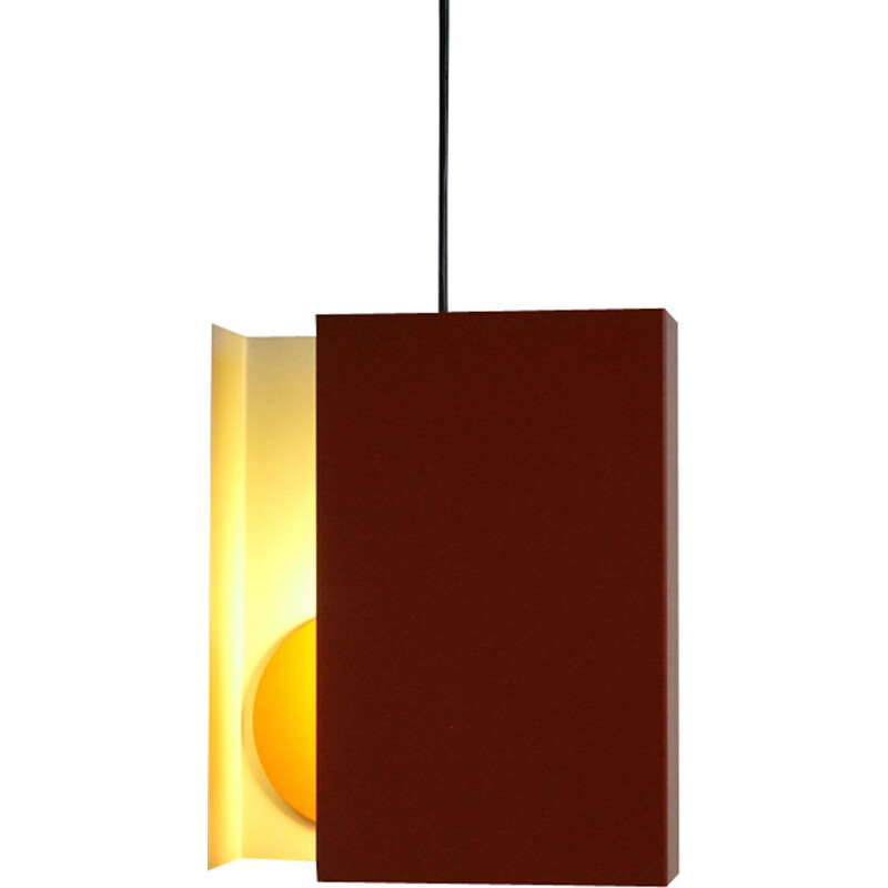 Vintage hanging lamp by Simon P. Henningsen for LYFA 1960