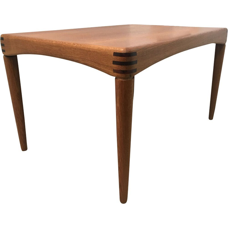 Vintage Scandinavian side table by H. W. KLEIN
